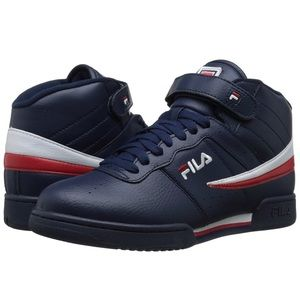 Fila Men's Athletic Shoes Sneakers blue red white